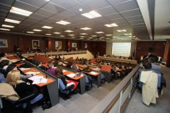 The GPSG conference took place at the Kranidiotis Hall of the Greek Ministry of Foreign Affairs