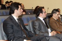 Greek Minister for the Media Mr. Konstantinos Gkioulekas and GPSG Convenor Roman Gerodimos