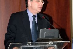 Foreign Ministry Spokesman Mr. George Koumoutsakos delivers his speech during Panel 5